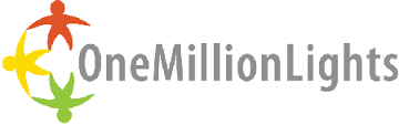 one million lights logo